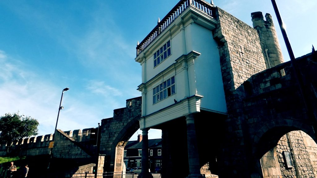 Elizabethan Extension Walmgate Bar York City Walls