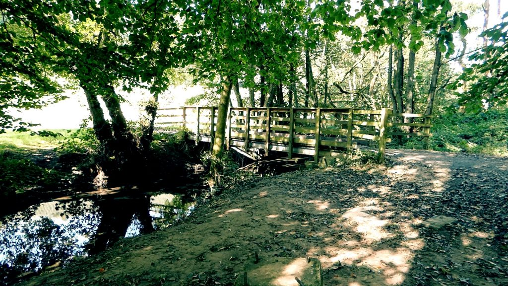 Footbridge Thornton le Dale to Dalby Forest