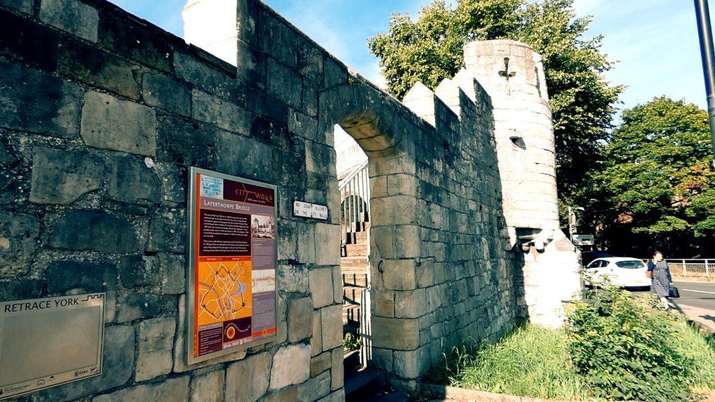 Layerthorpe York City Walls