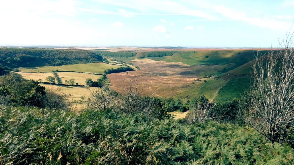 Looking down the Hole of Horcum