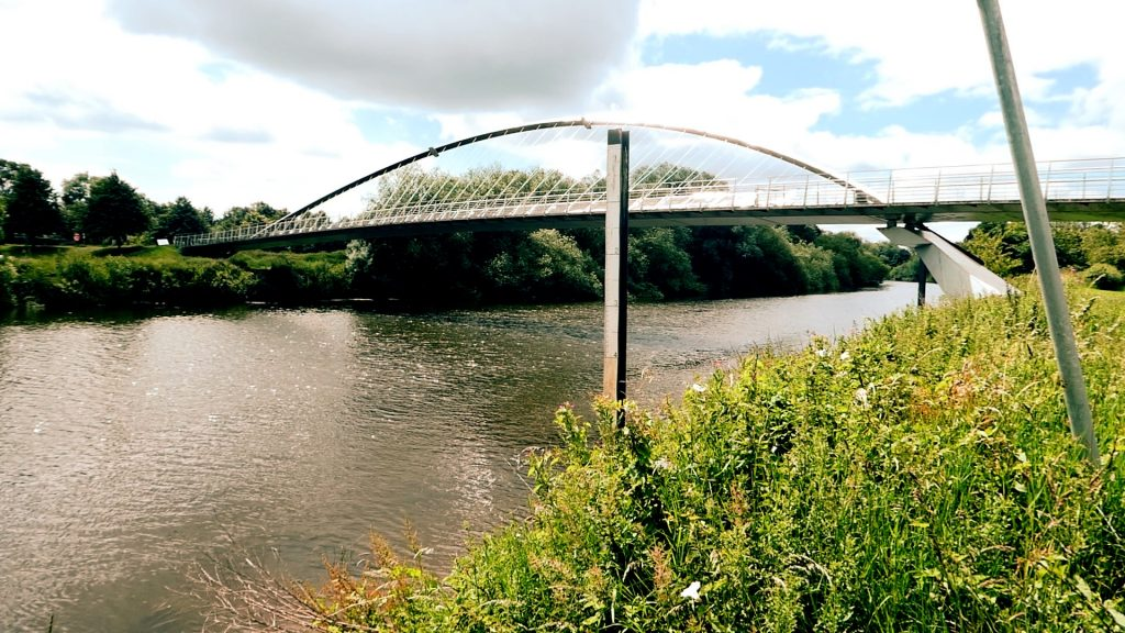Millennium Bridge York River Ouse Walk