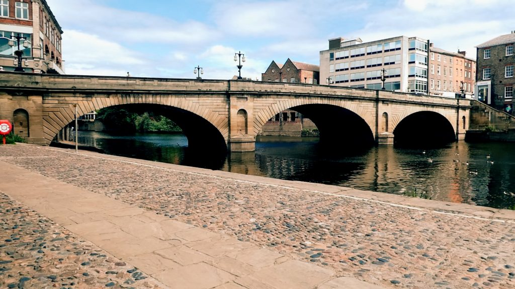 Ouse Bridge York River Ouse Walk