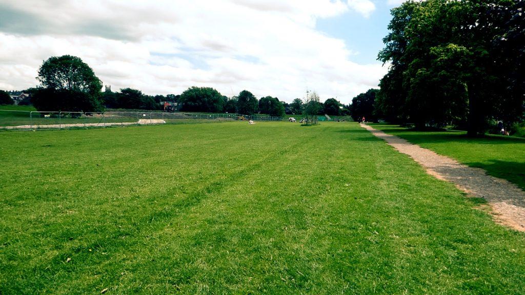 Riverside Green Space York River Ouse Walk