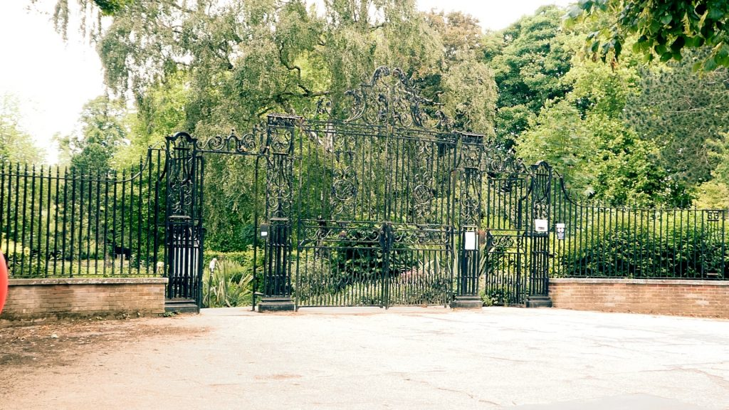 Rowntree Park Gates York River Ouse Walk