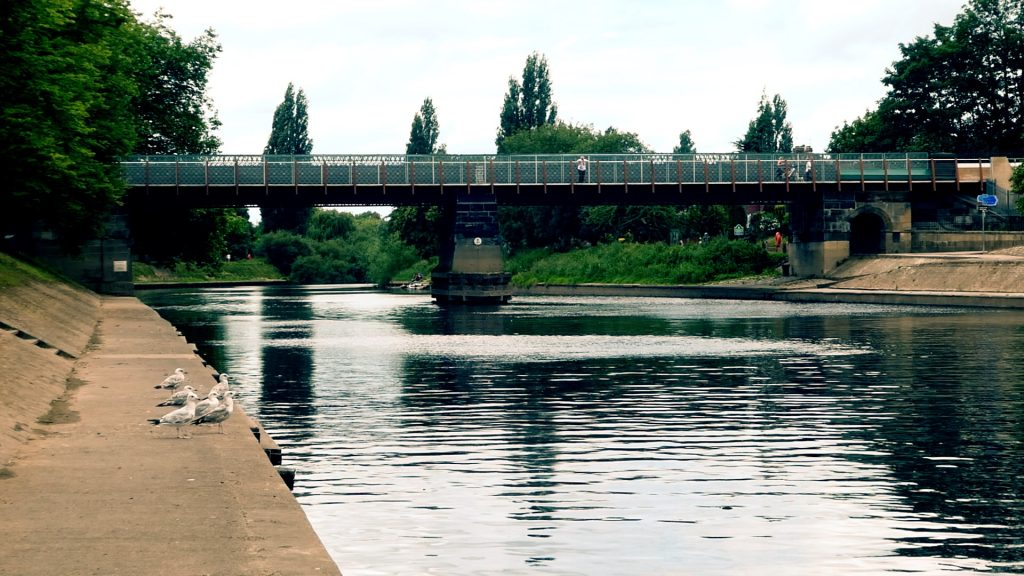 Scarborough Bridge York River Ouse Walk