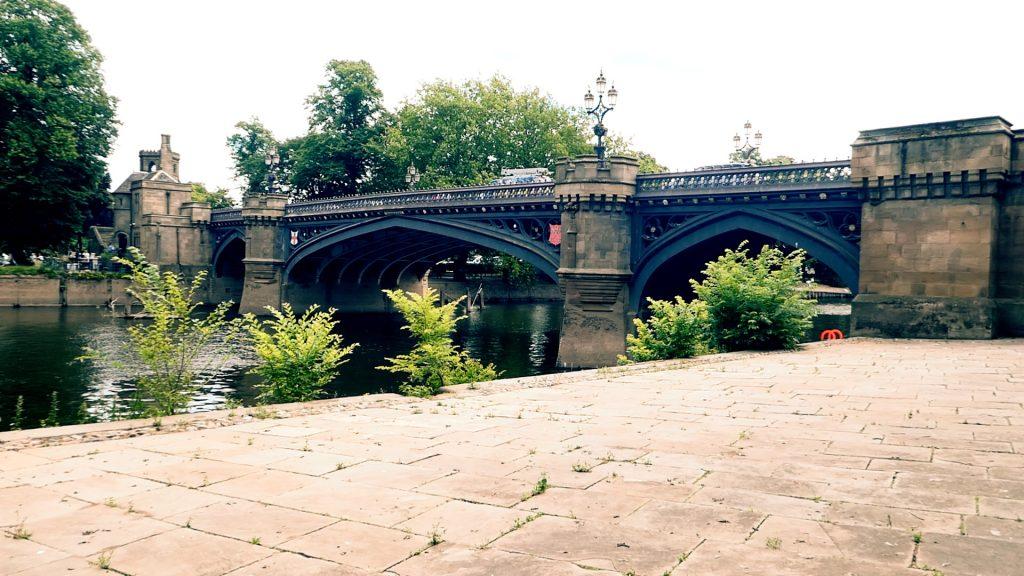 Skeldergate Bridge York River Ouse Walk