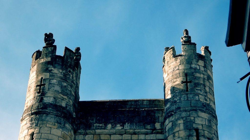 Wild Men of York City Walls