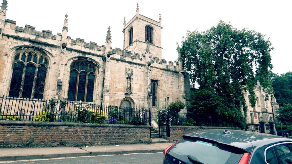 St Olave's Church Museum Gardens