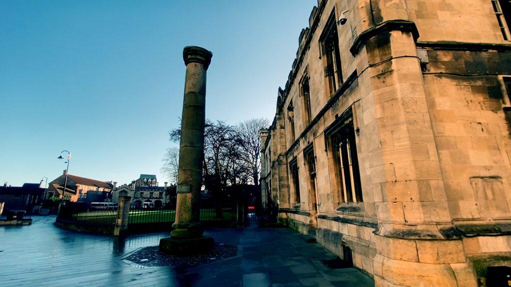 Roman Column York Minster