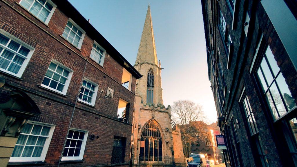 Tallest Spire Castlegate York's Historic Streets Part One