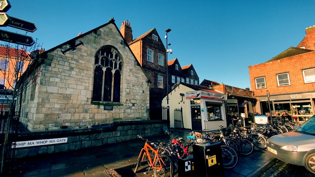 Whip-Ma-Whop-Ma-Gate York's Historic Streets Part One