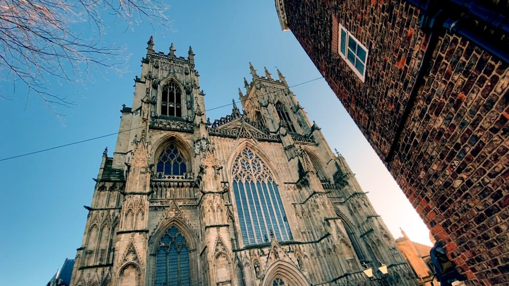 York Minster West Towers