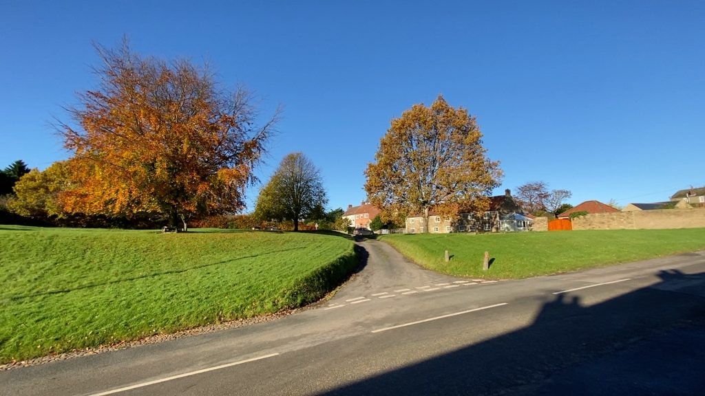 Amazing colours on Oulston Green